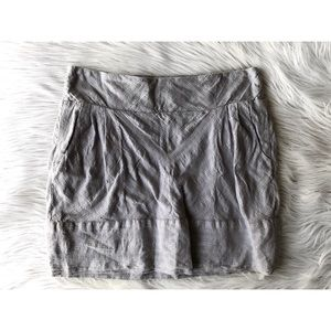 Urban Outfitters | Staring at Stars Silver Skirt
